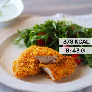 nuggetsy z kurczaka fit przepis
